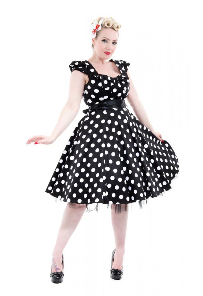hearts roses 50er jahre pin up polka dots swing. Black Bedroom Furniture Sets. Home Design Ideas