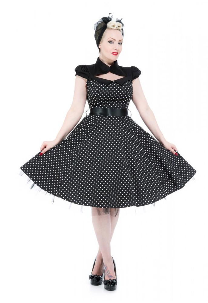 hearts roses 50er pin up polka dots bolero swing petticoat kleid rockabilly ebay. Black Bedroom Furniture Sets. Home Design Ideas